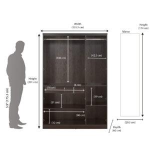3 door wardrobe by smart furniture 4 (1)