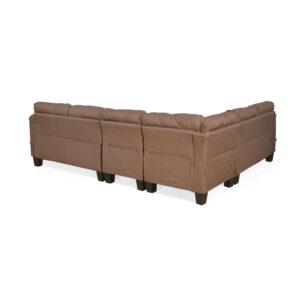brown corner sofa set (1)